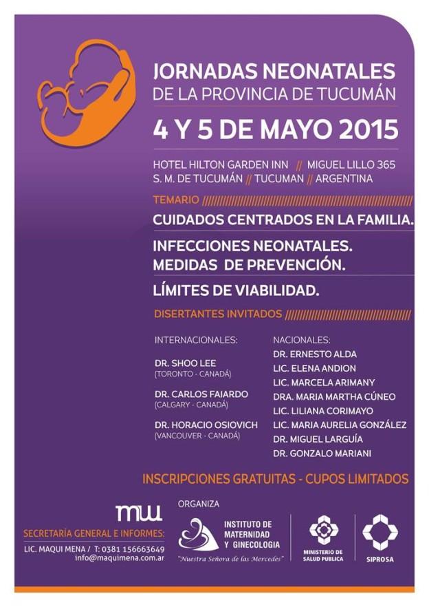 Jornadas Neonatales Tucumán 2015