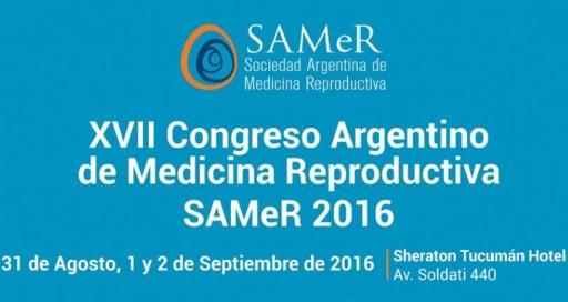 XVII Congreso Argentino de Medicina Reproductiva SAMeR @ Sheraton Hotel | San Miguel de Tucumán | Tucumán | Argentina