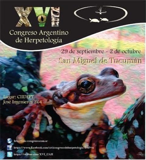 """Llega el """"XVI Congreso Argentino de Herpetología"""" a Tucumán"""